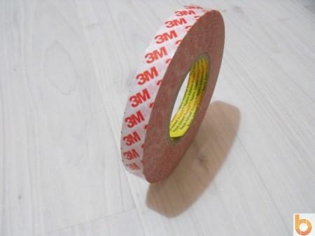 Kétoldalú ragasztószalag (profi) 10m/19mm