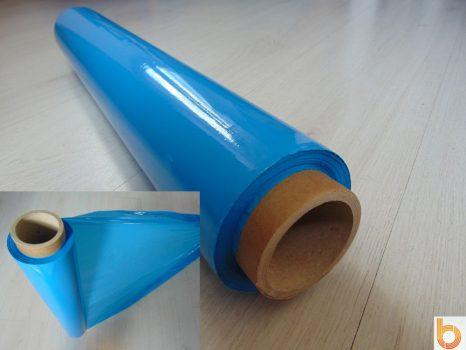 Kézi sztreccsfólia kék (23 mikronos)