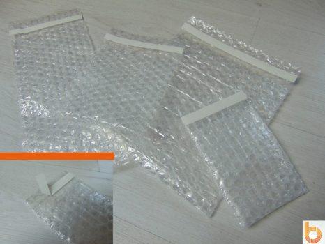 Átlátszó légpárnás (buborékos) tasak egyedi méretre