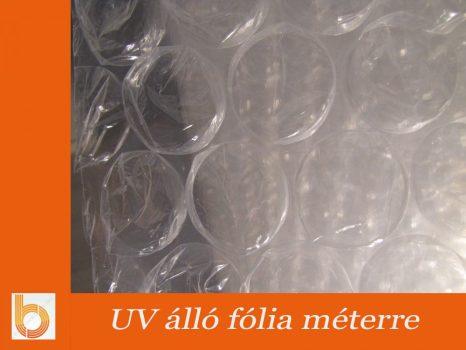 UV álló buborékos fólia méterre