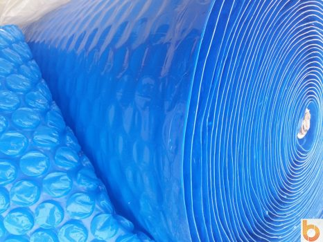 Nagy buborékos medence takaró fólia 140cm/40m