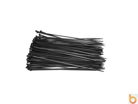 Gyorskötöző 20cm fekete