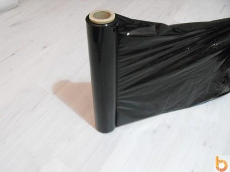 Kézi sztreccsfólia 2,0kg (23 mikronos), fekete